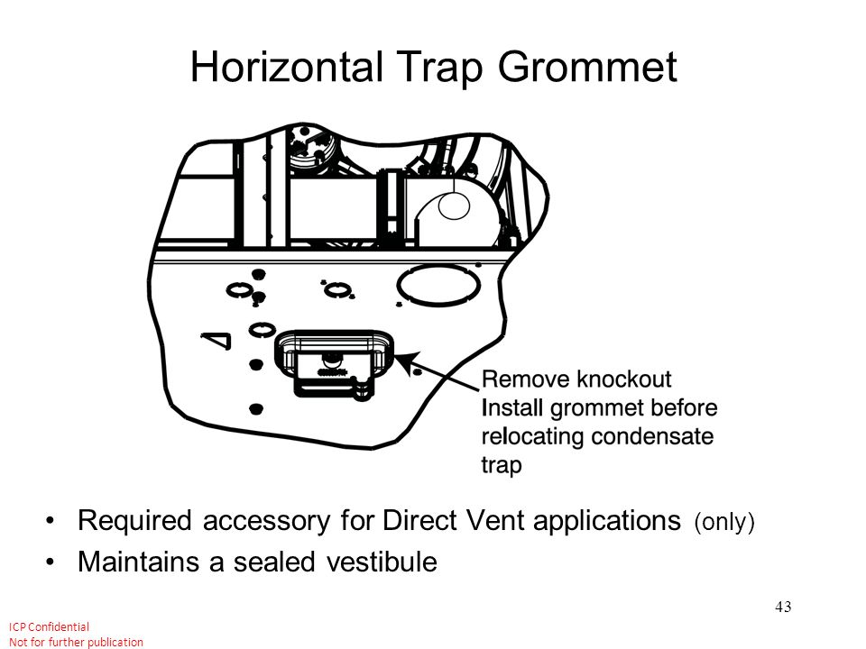 Horizontal Trap Grommet