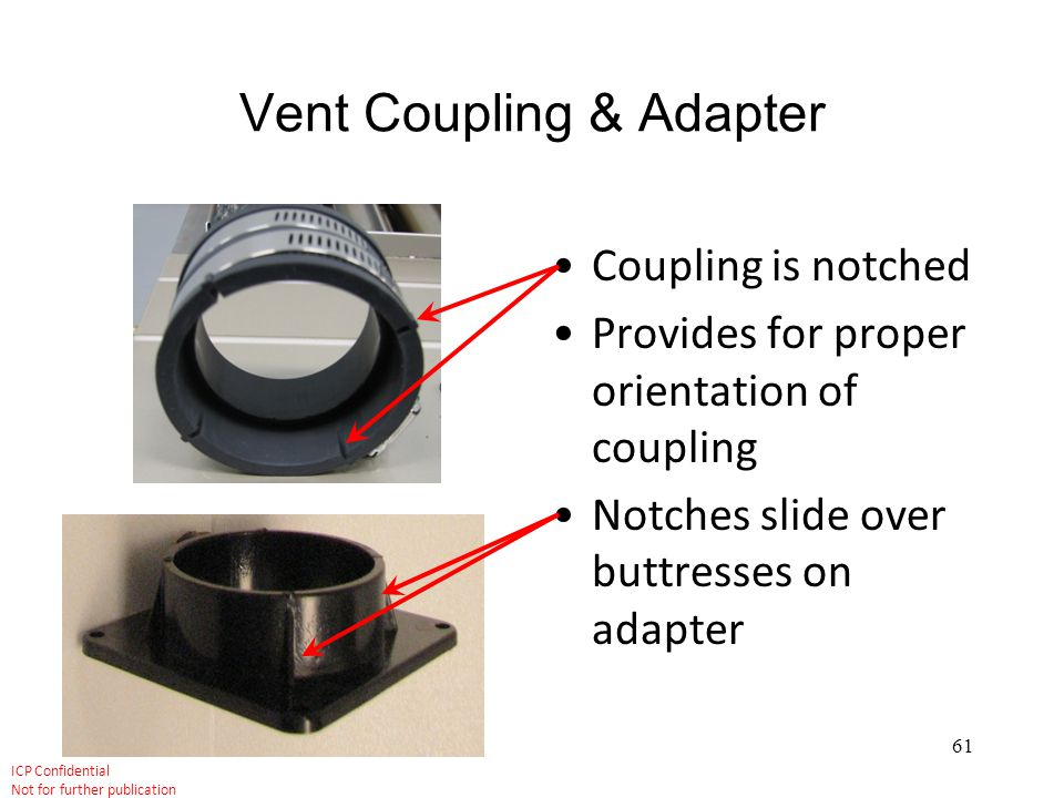 Vent Coupling & Adapter