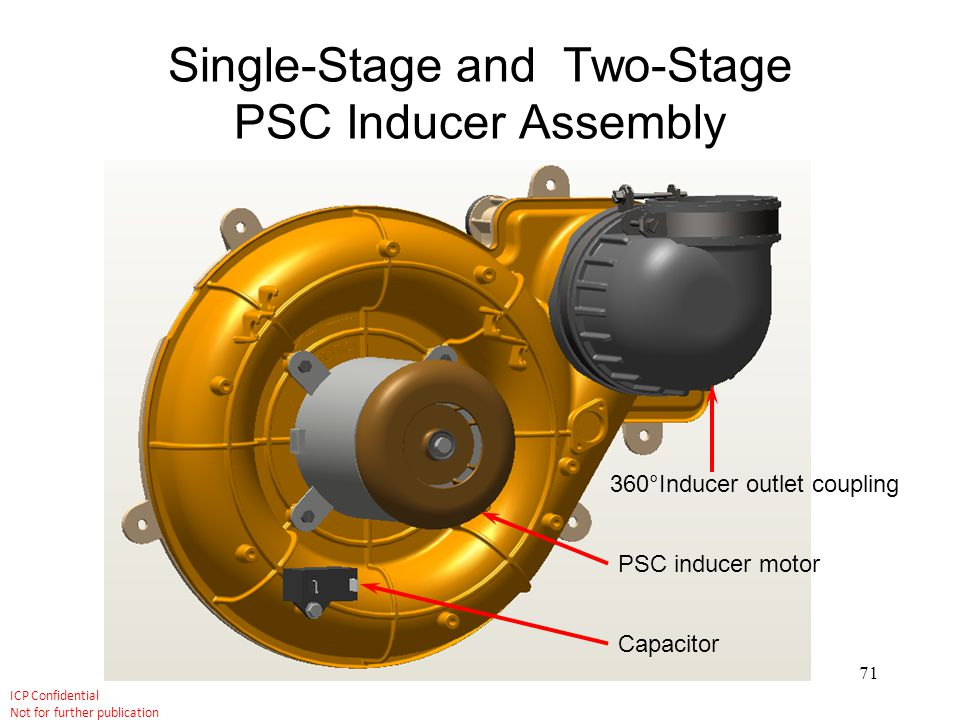 Single-Stage and Two-Stage PSC Inducer Assembly