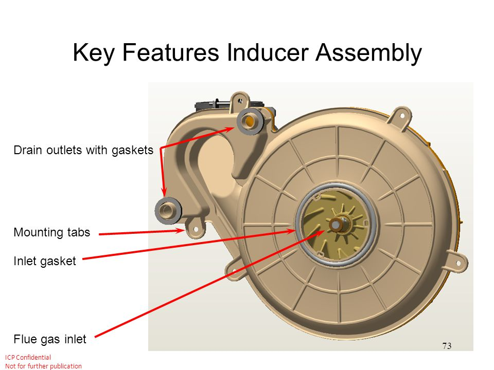 Key Features Inducer Assembly