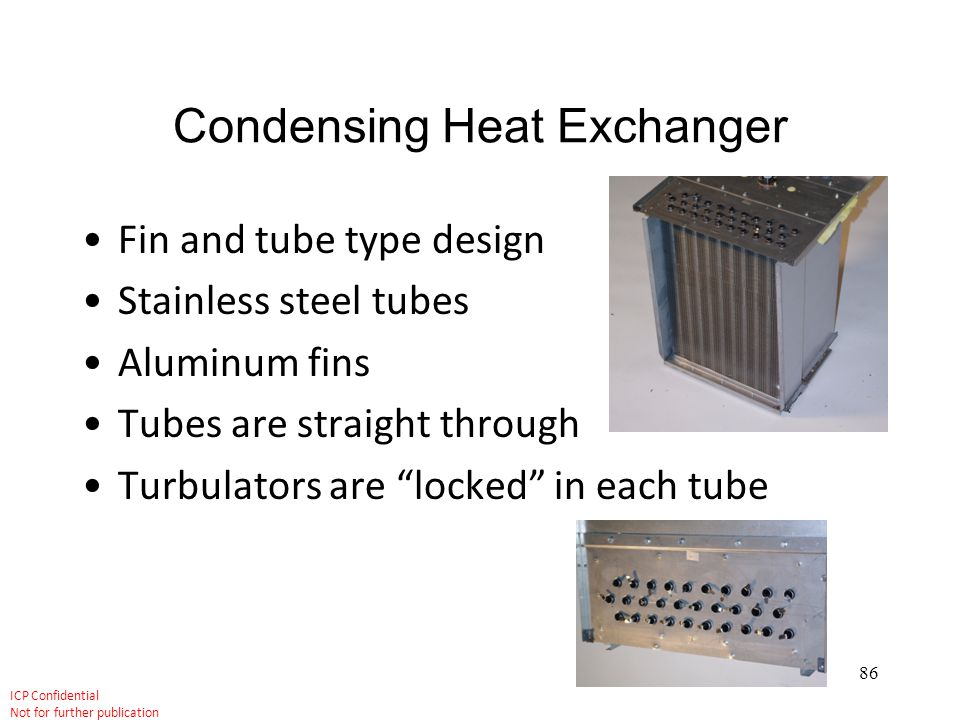 Condensing Heat Exchanger