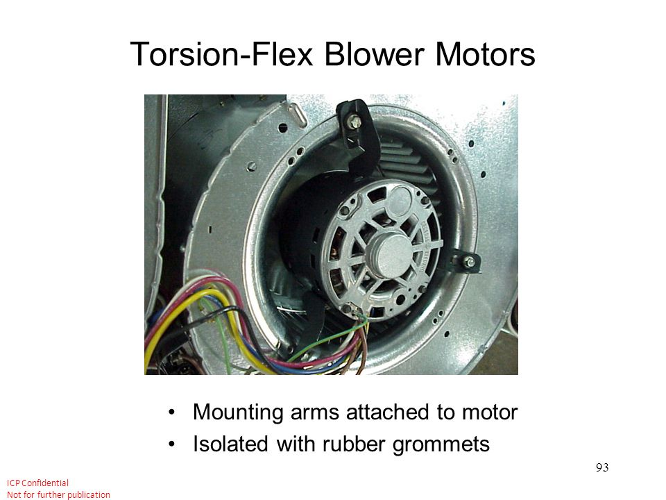Torsion-Flex Blower Motors