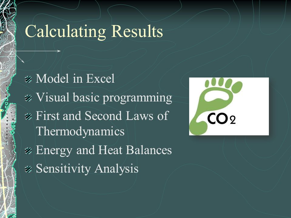 Calculating Results Model in Excel Visual basic programming