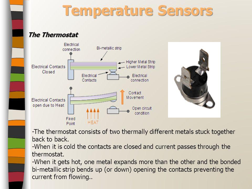 Temperature Sensors The Thermostat