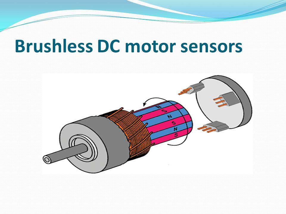 Brushless DC motor sensors