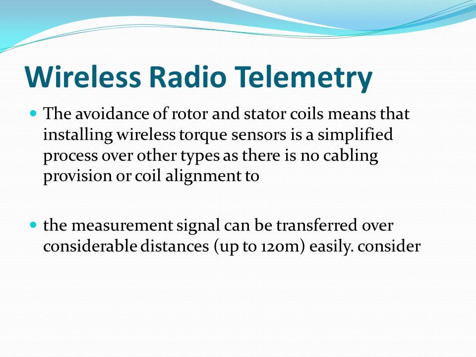 Wireless Radio Telemetry