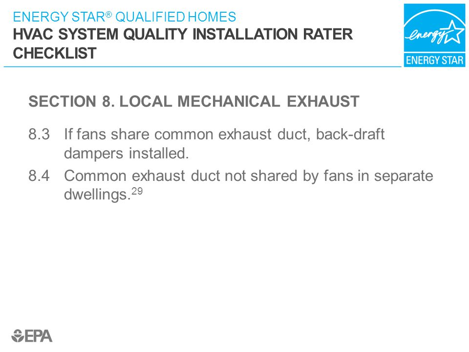 SECTION 8. LOCAL MECHANICAL EXHAUST