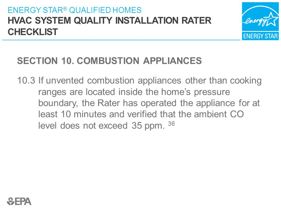 SECTION 10. COMBUSTION APPLIANCES