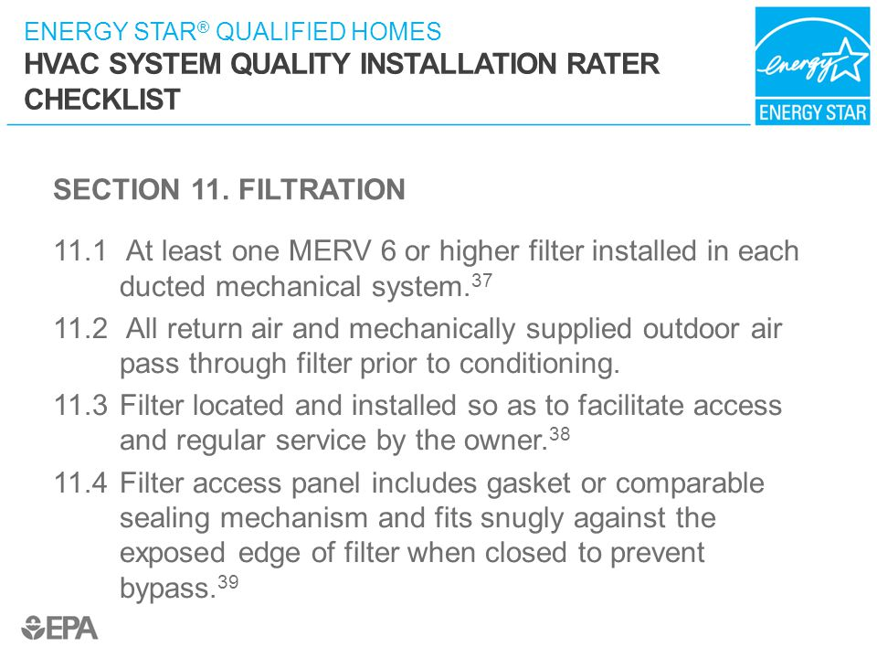 SECTION 11. FILTRATION