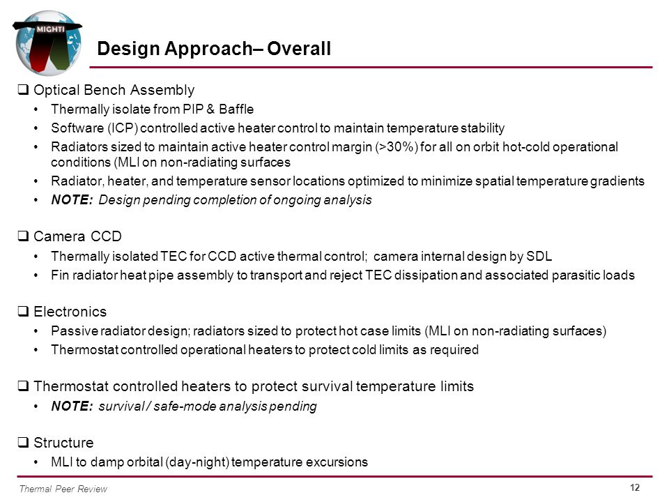 Design Approach– Overall