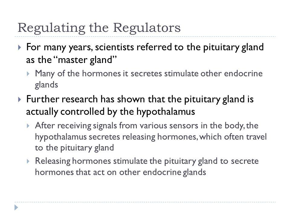 Regulating the Regulators