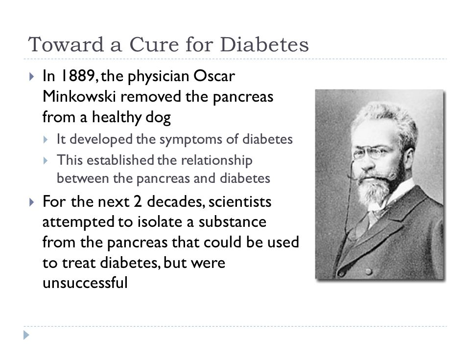 Toward a Cure for Diabetes