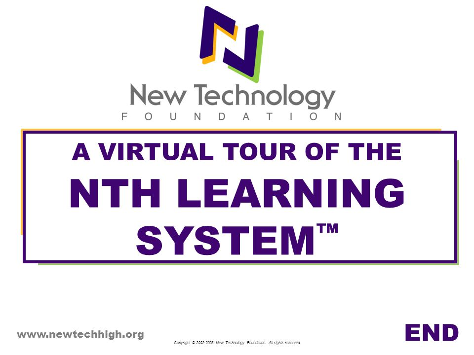 A VIRTUAL TOUR OF THE NTH LEARNING SYSTEM™