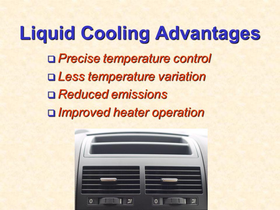 Liquid Cooling Advantages