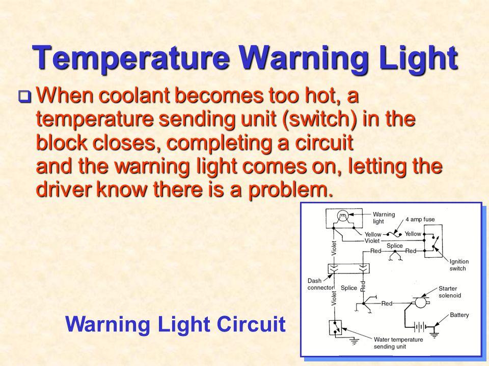 Temperature Warning Light