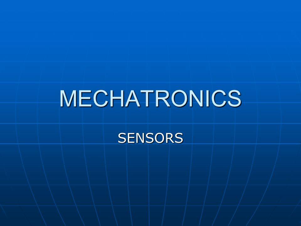 MECHATRONICS SENSORS