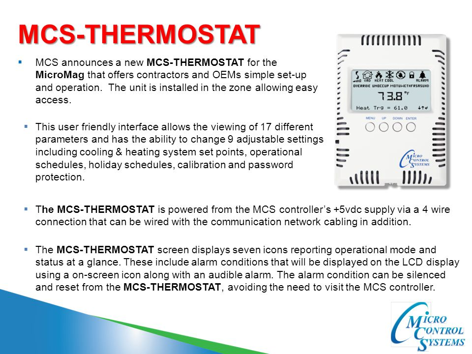 MCS-THERMOSTAT
