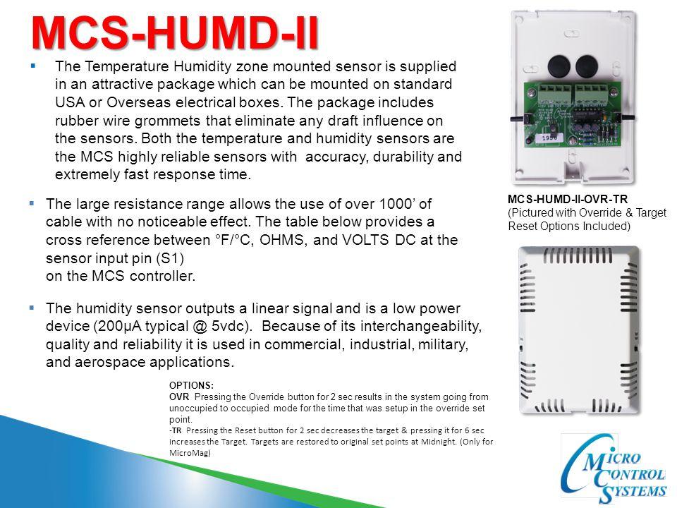 MCS-HUMD-II