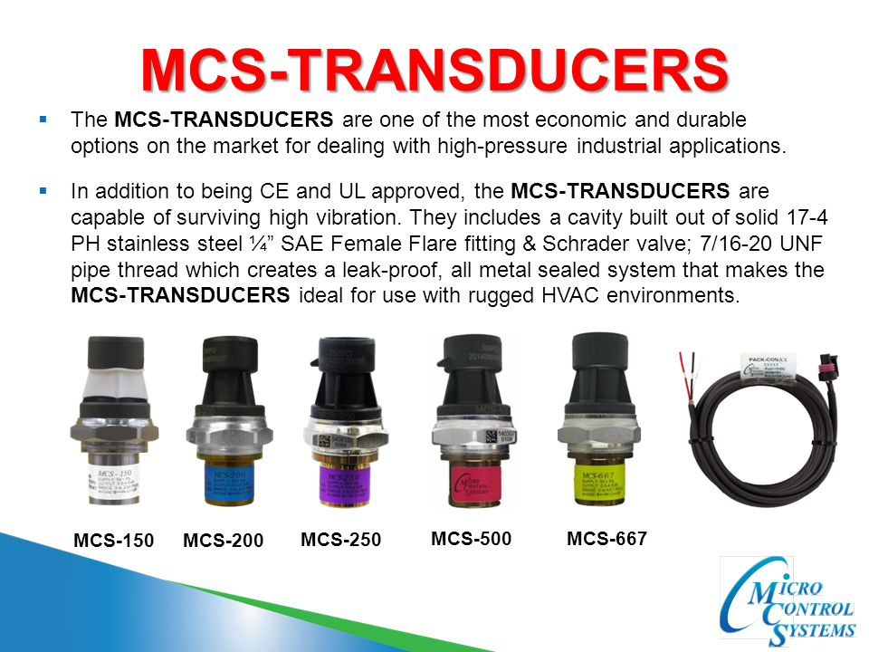 MCS-TRANSDUCERS