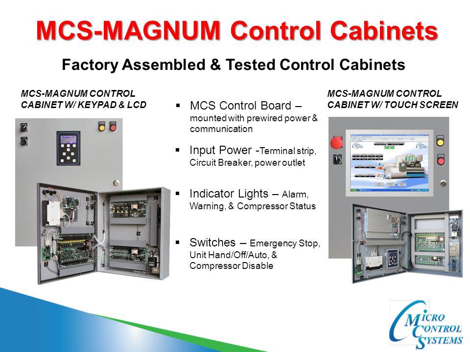 MCS-MAGNUM Control Cabinets