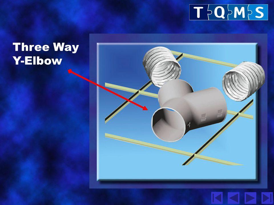 Three Way Y-Elbow