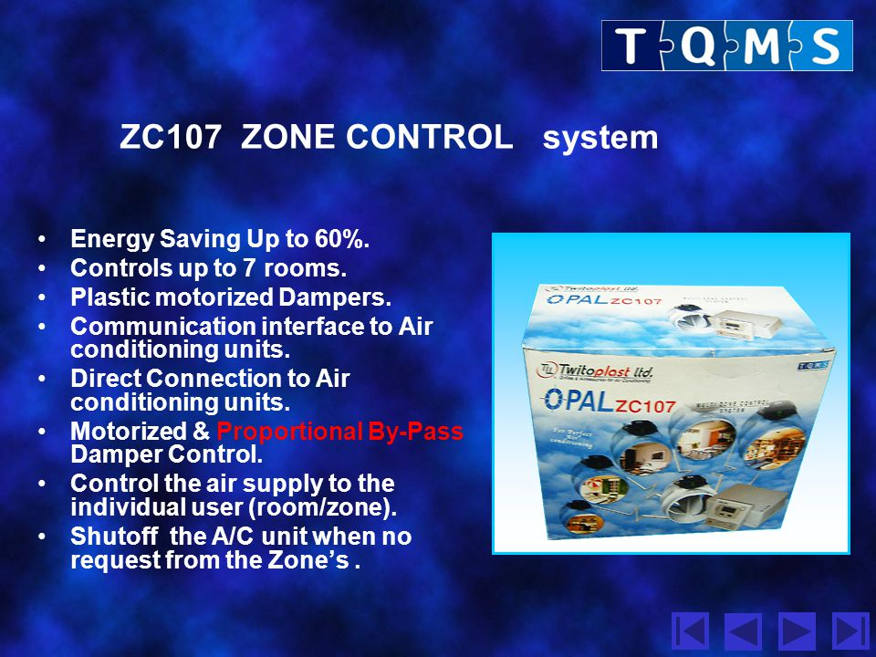 ZC107 ZONE CONTROL system Energy Saving Up to 60%.