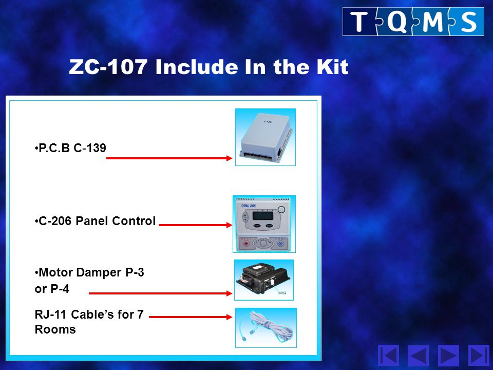 ZC-107 Include In the Kit P.C.B C-139 C-206 Panel Control
