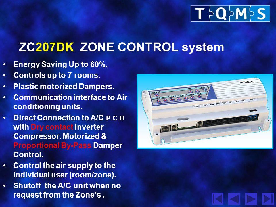 ZC207DK ZONE CONTROL system
