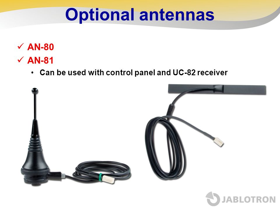 Optional antennas AN-80 AN-81