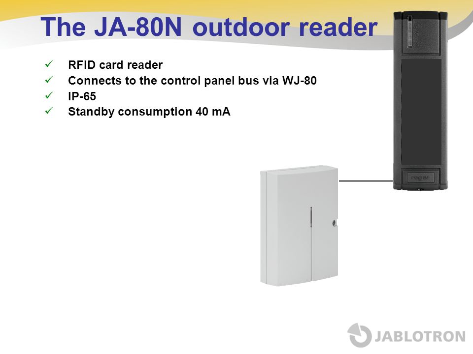 The JA-80N outdoor reader