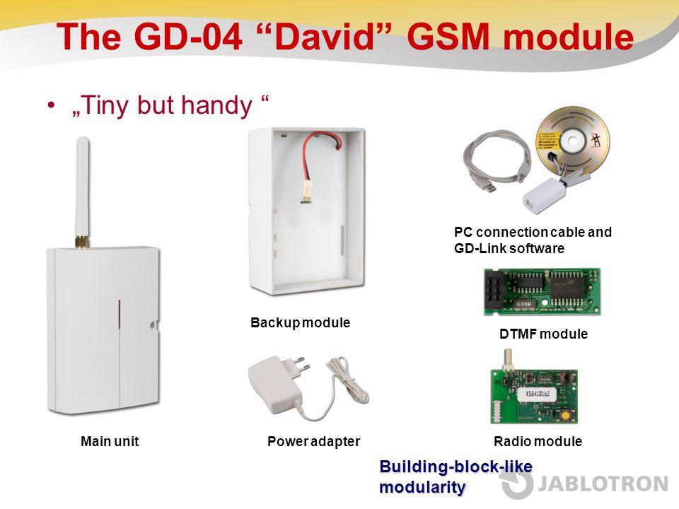 The GD-04 David GSM module