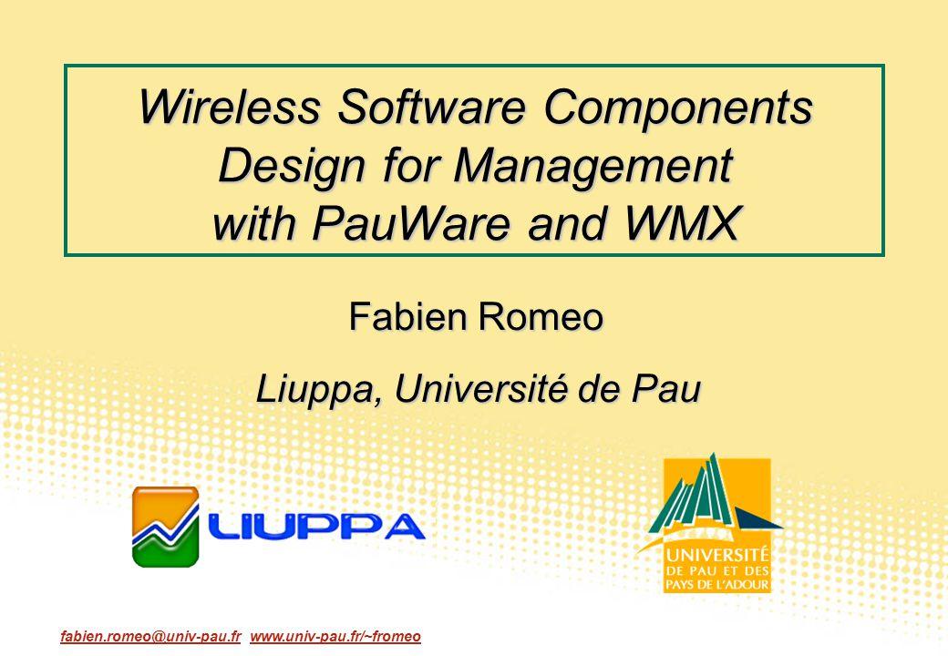 Liuppa, Université de Pau