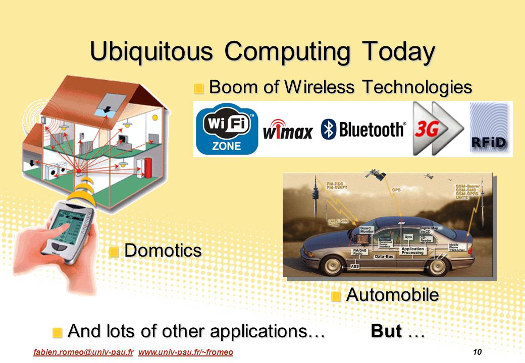 Ubiquitous Computing Today