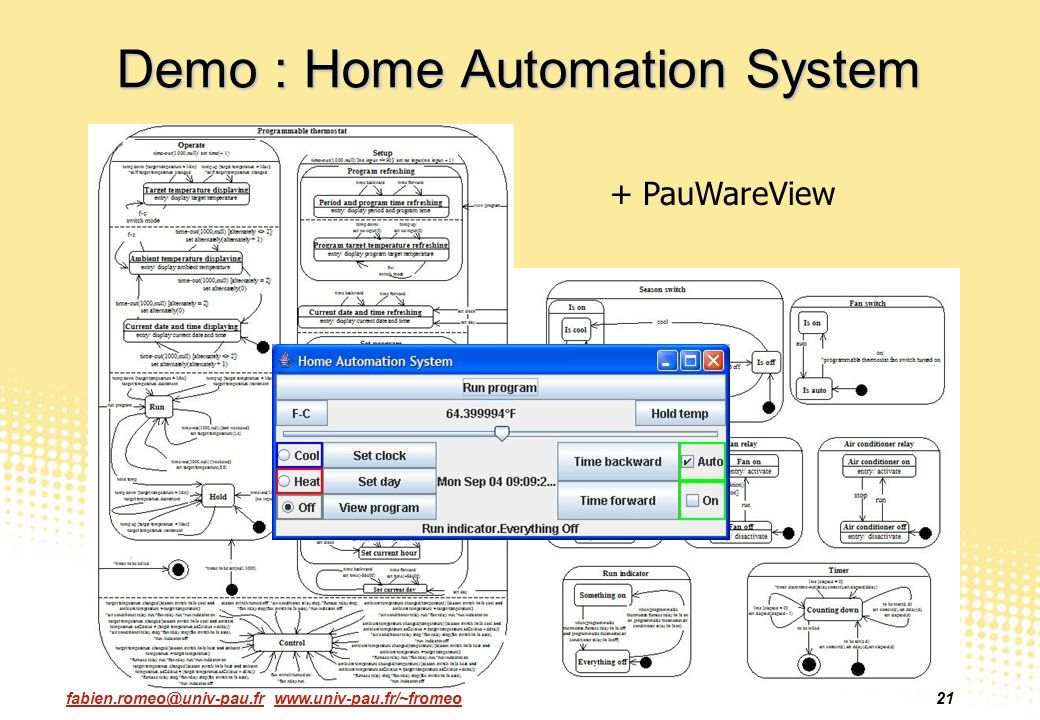 Demo : Home Automation System