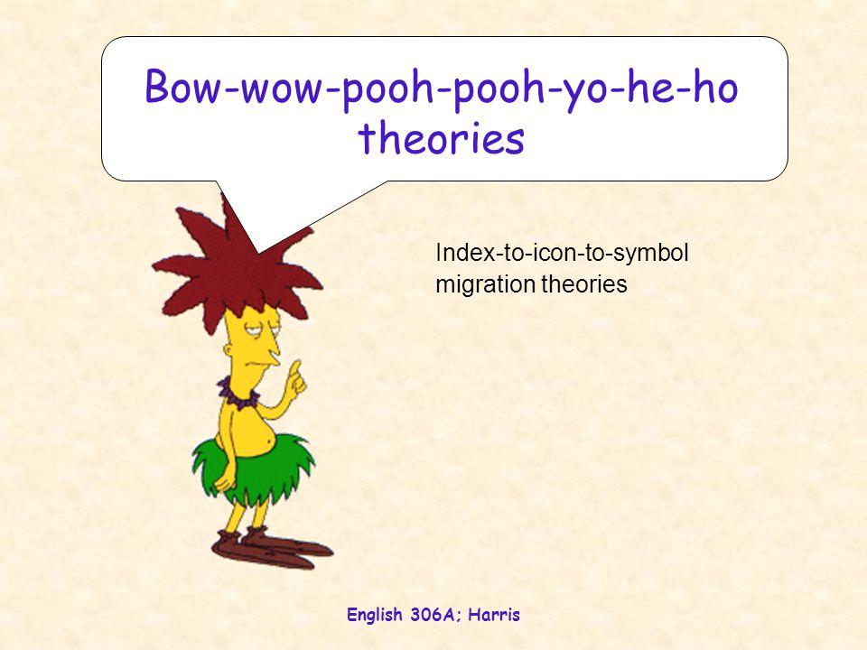Bow-wow-pooh-pooh-yo-he-ho theories