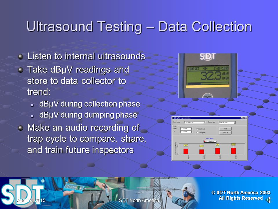 Ultrasound Testing – Data Collection