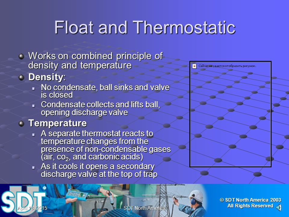 Float and Thermostatic
