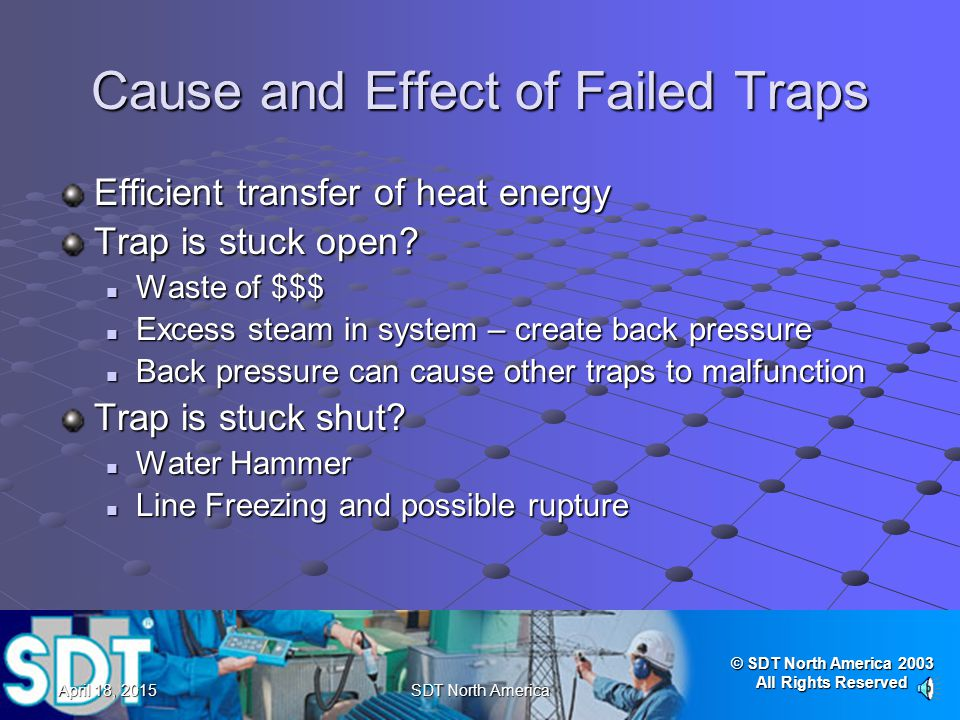 Cause and Effect of Failed Traps
