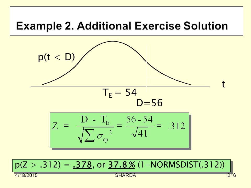 Example 2. Additional Exercise Solution