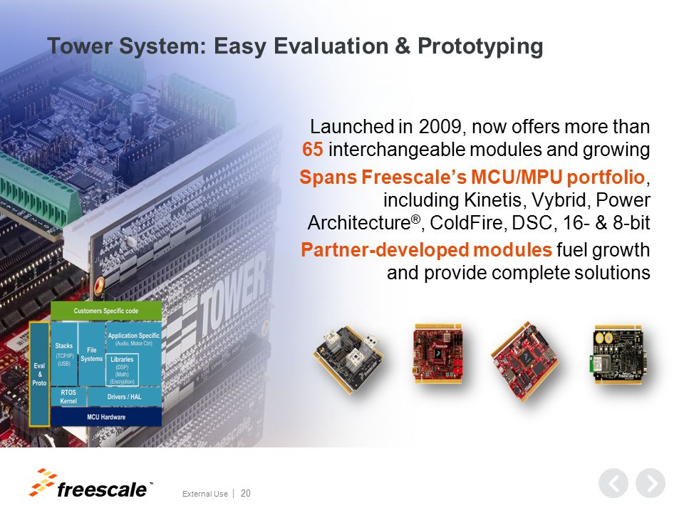 Freescale Tower System
