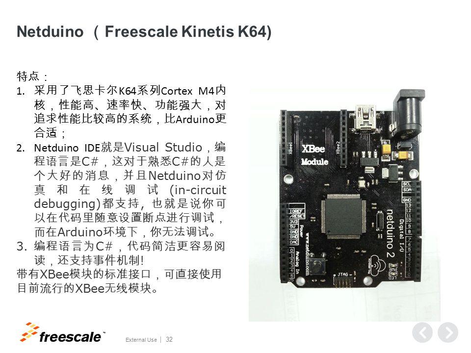Netduino (Freescale Kinetis K64)