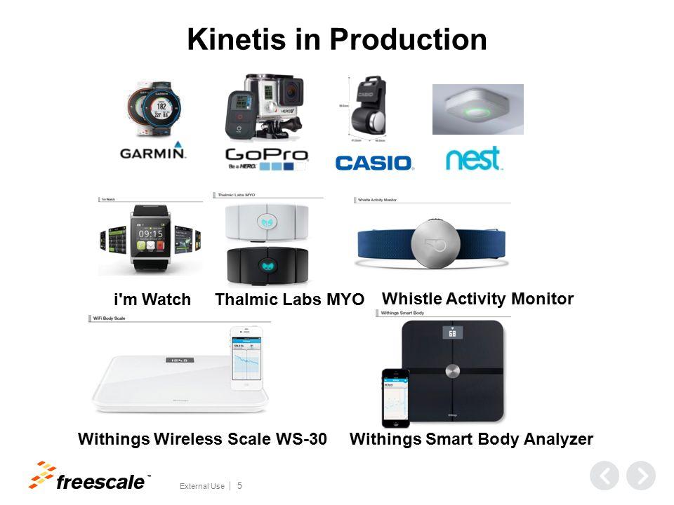 Kinetis Microcontrollers (Now & in the Future…) World's Broadest ARM Cortex-M Portfolio