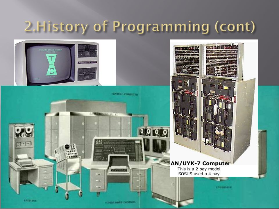 2.History of Programming (cont)