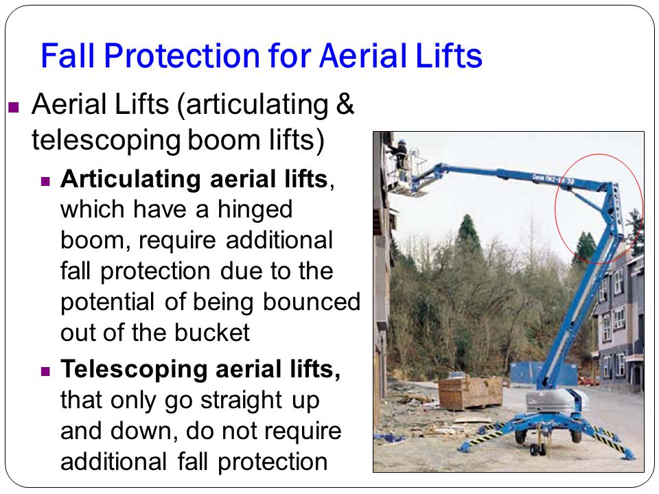 Fall Protection for Aerial Lifts