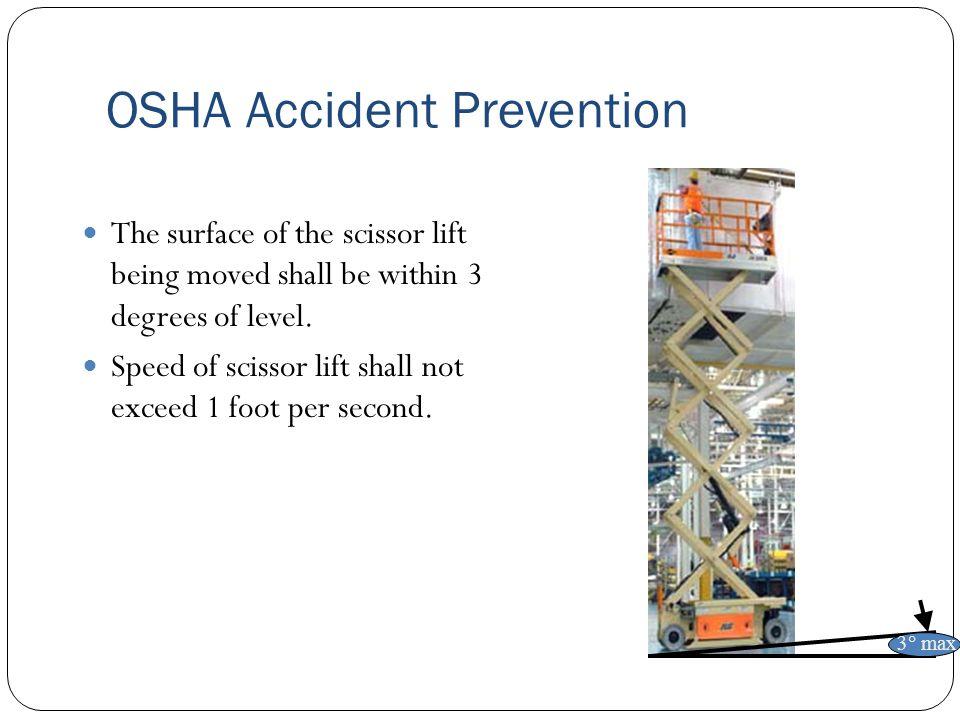 OSHA Accident Prevention
