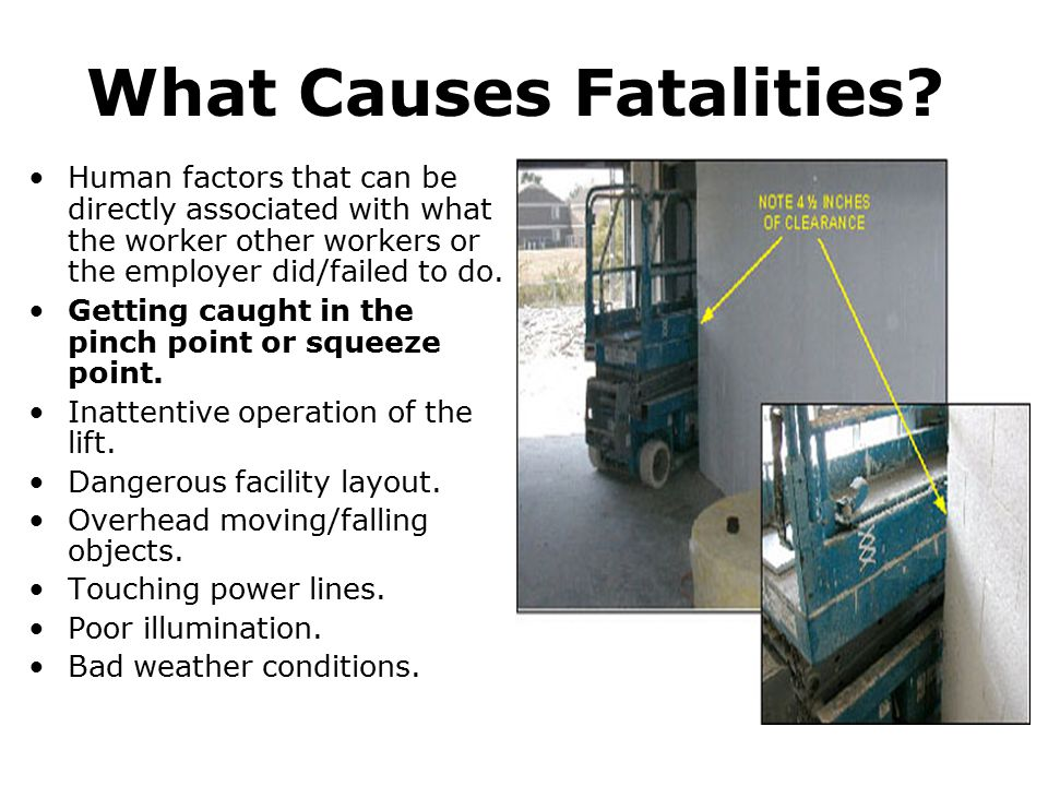 What Causes Fatalities