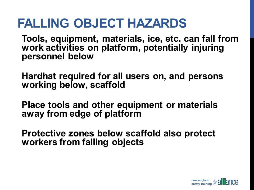 Falling Object Hazards
