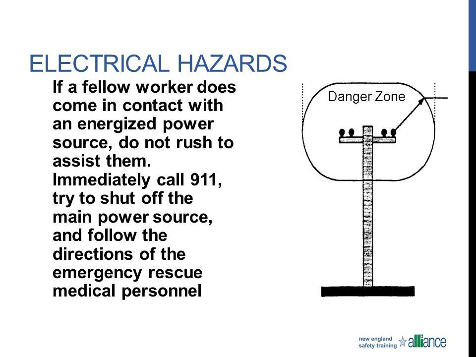Electrical Hazards Danger Zone.