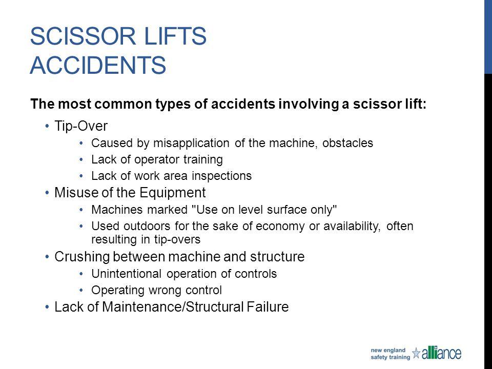 Scissor Lifts Accidents