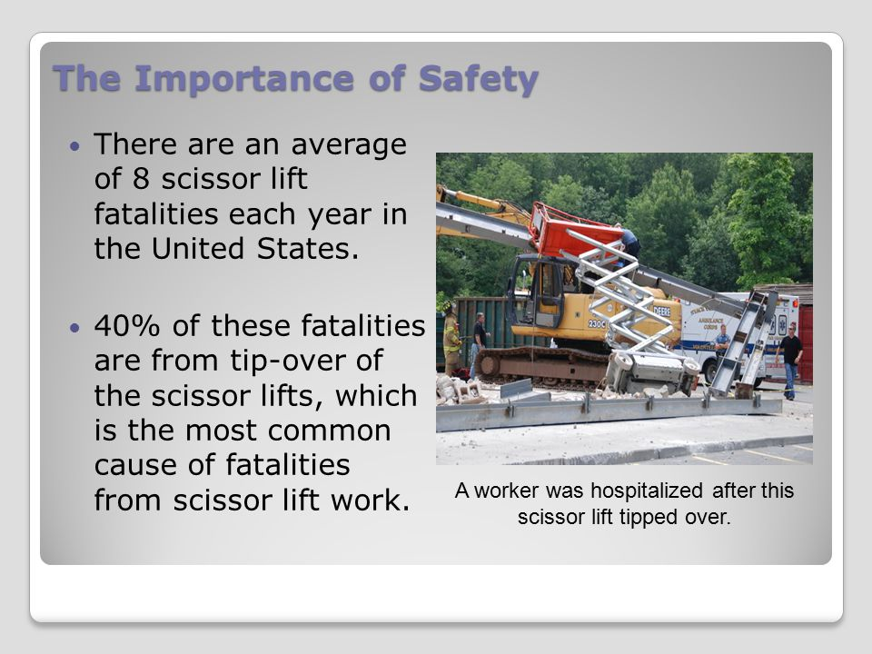 The Importance of Safety